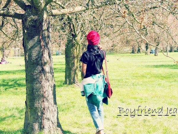 Boyfriend Jeans - Outfit post