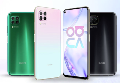 Huawei Nova 7,Nova 7 Pro,Nova 7SE Price Specifications in Pakistan