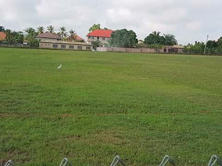 This is the current state of Old Adansiman park being developed by Doctor Boakye