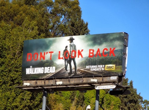 Walking Dead Don't Look Back billboard
