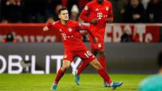 Bayern will not exercise option to sign Coutinho from Barcelona
