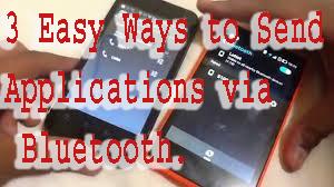 3 Easy Ways to Send Applications via Bluetooth. 1