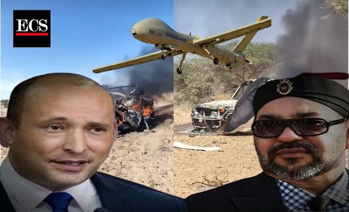 Los drones israelíes que eliminan al pueblo palestino ahora asesinan a los civiles saharauis.