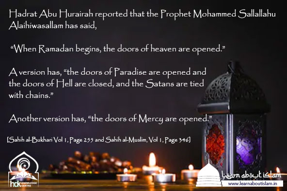 Ramadan Roza (Fasting) Hadtihs - Ramazan Quotes and Greetings