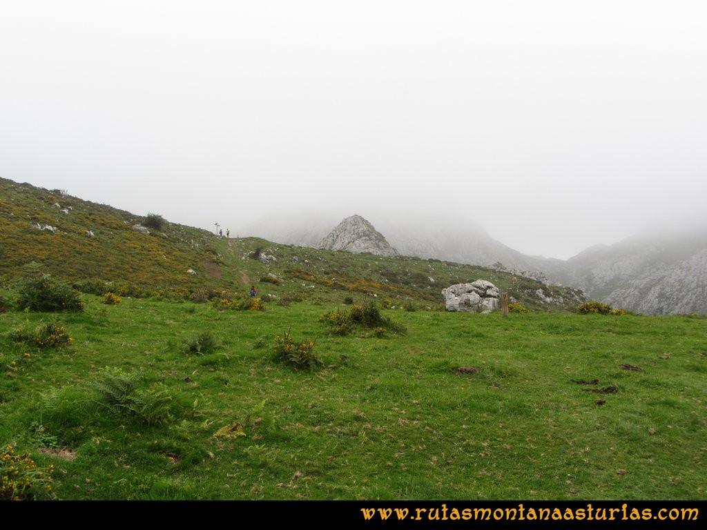 Ruta Ercina, Jultayu, Cuvicente: Camino a la majada de Belbín
