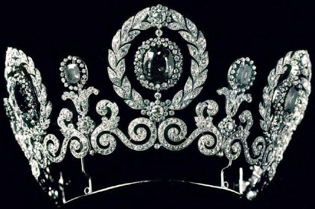 maria pavlovna russia sweden cartier sapphire diamond tiara