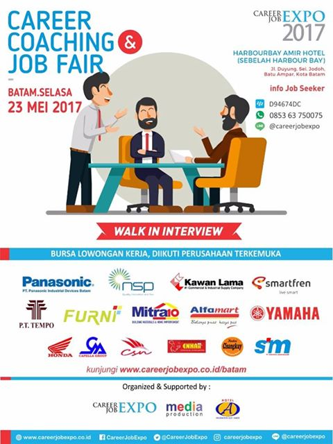 Bursa Kerja Batam Career Job Expo 2017