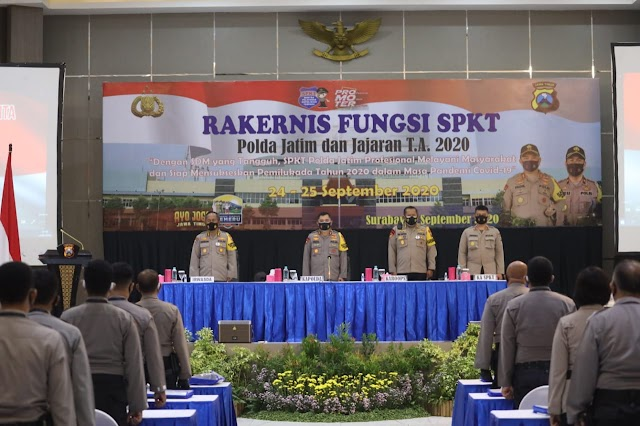 Jelang Pilkada, Kapolda Membekali Anggota SPKT