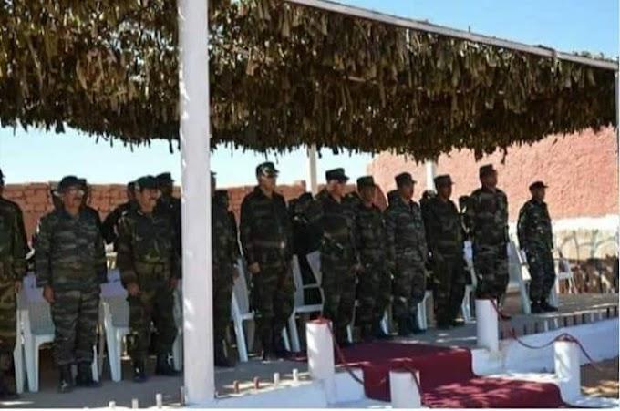 El Presidente de la República preside una reunión del Estado Mayor del Ejército de Liberación Popular Saharaui
