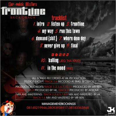 SMK  -  FRONTLINE (Download FULL ALBUM) on Jejetv.com