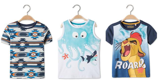 ropa, ropa para niños, vestidos, camisetas, bermudas, h&m, c&a, kiabi, compras, ropa economica