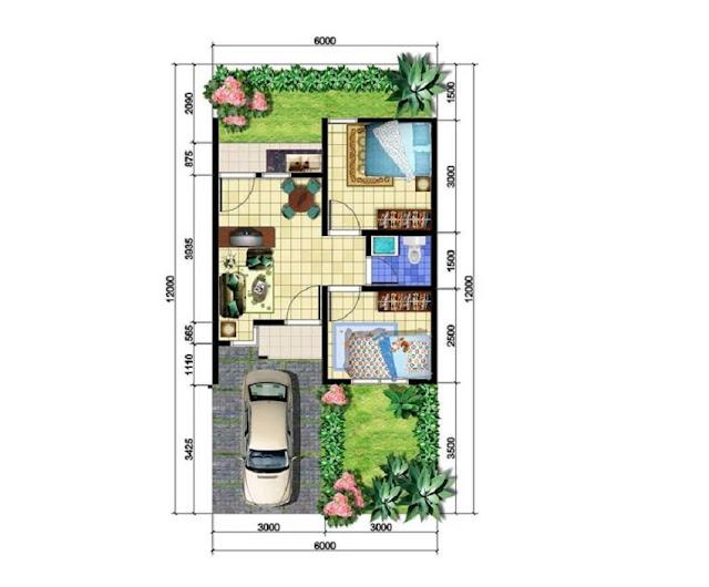 Rumah Type 36 2 Kamar