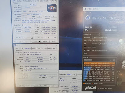 AMD Ryzen 93950X se consiguieron mediante overclock