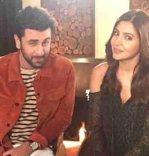 Ranbir Kapoor With Anushka Sharma