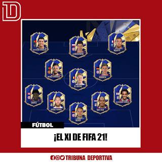 ¡EL XI DE FIFA 21!