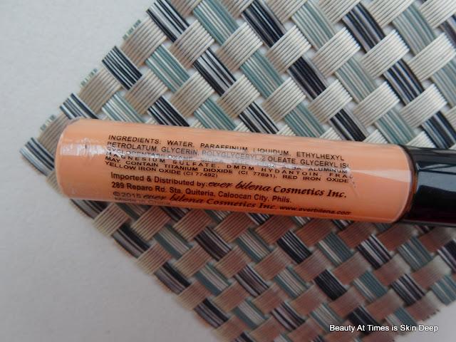 Ever Bilena Liquid Concealer ingredients