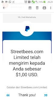 Bukti streetbees