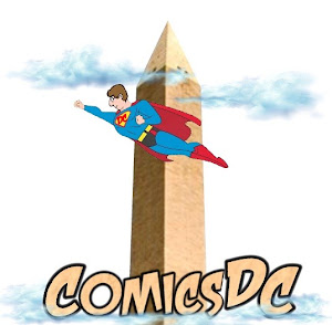 "ComicsDC 2012 logo by Michael ""MJ"" Pohrer"