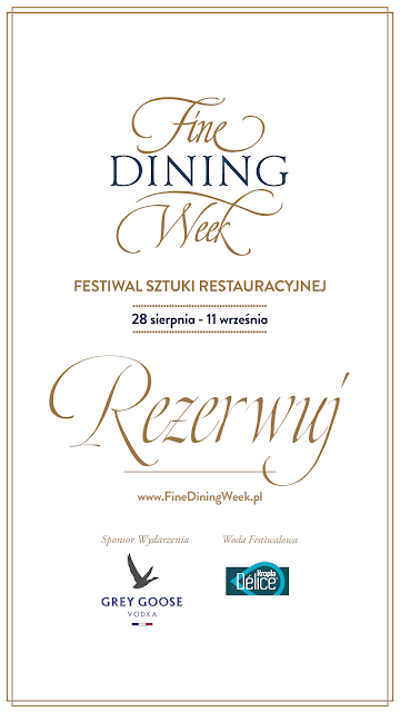 Restauracja Isto i Fine Dining Week