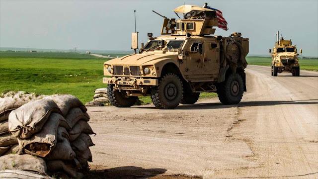 Ejército sirio impide paso de convoy militar de EEUU en Al-Hasaka