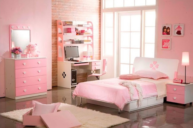 Minimalist Bedroom Design Pink Color
