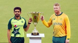 CricketHighlights: Pakistan vs South Africa 1st T20I 2021 Highlights