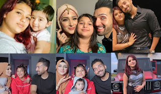 Sham and Froggy introduced his first daughter Dua Idrees to fans on her 10th birthday