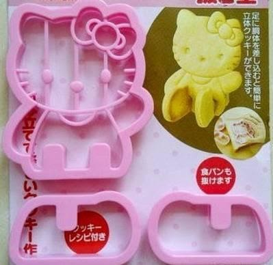 Cetakan Kue Kering Sandwich 3d Hello Kitty Yummy N Healthy