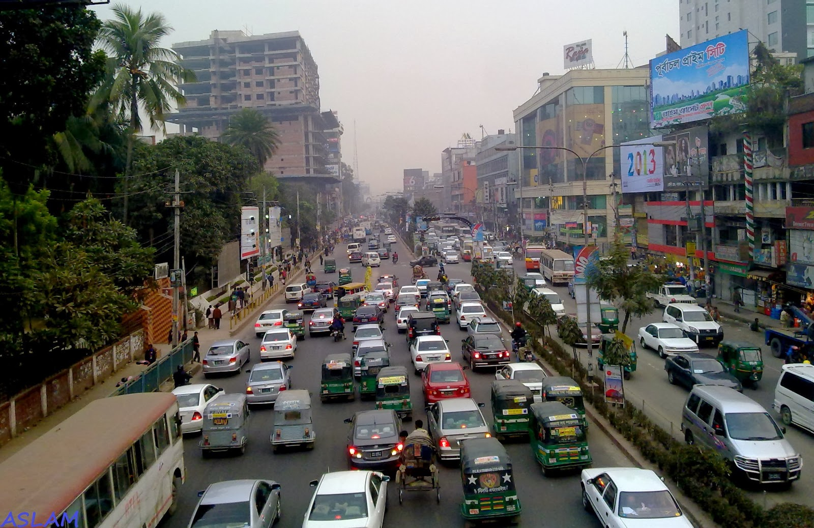 Dhaka City's Traffic Jam and Planned Solutions