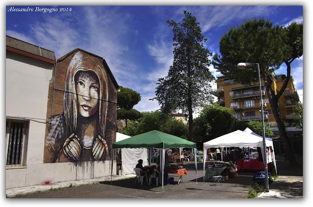 Roma - Street Art - Alice Pasquini