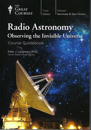 Great DVD lecture series on radio astronomy (Source: The Teaching Company)