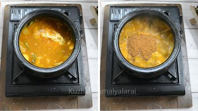 No onion ashgourd sambhar, ashgourd sambhar recipe, no onion recipe, south indian sambhar for rice- kuzhali samaiyalarai