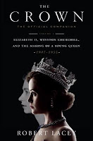 The Crown: The Official Companion, Volume I, by Robert Lacey book cover and thought
