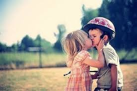 Top latest hd Baby Boy to Girl frist kiss images photos pic wallpaper free download 46