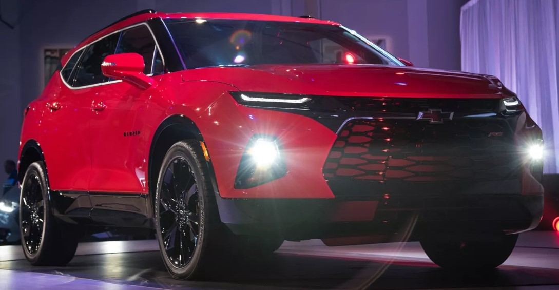 2021 chevy blazer k5 interior engine and release date