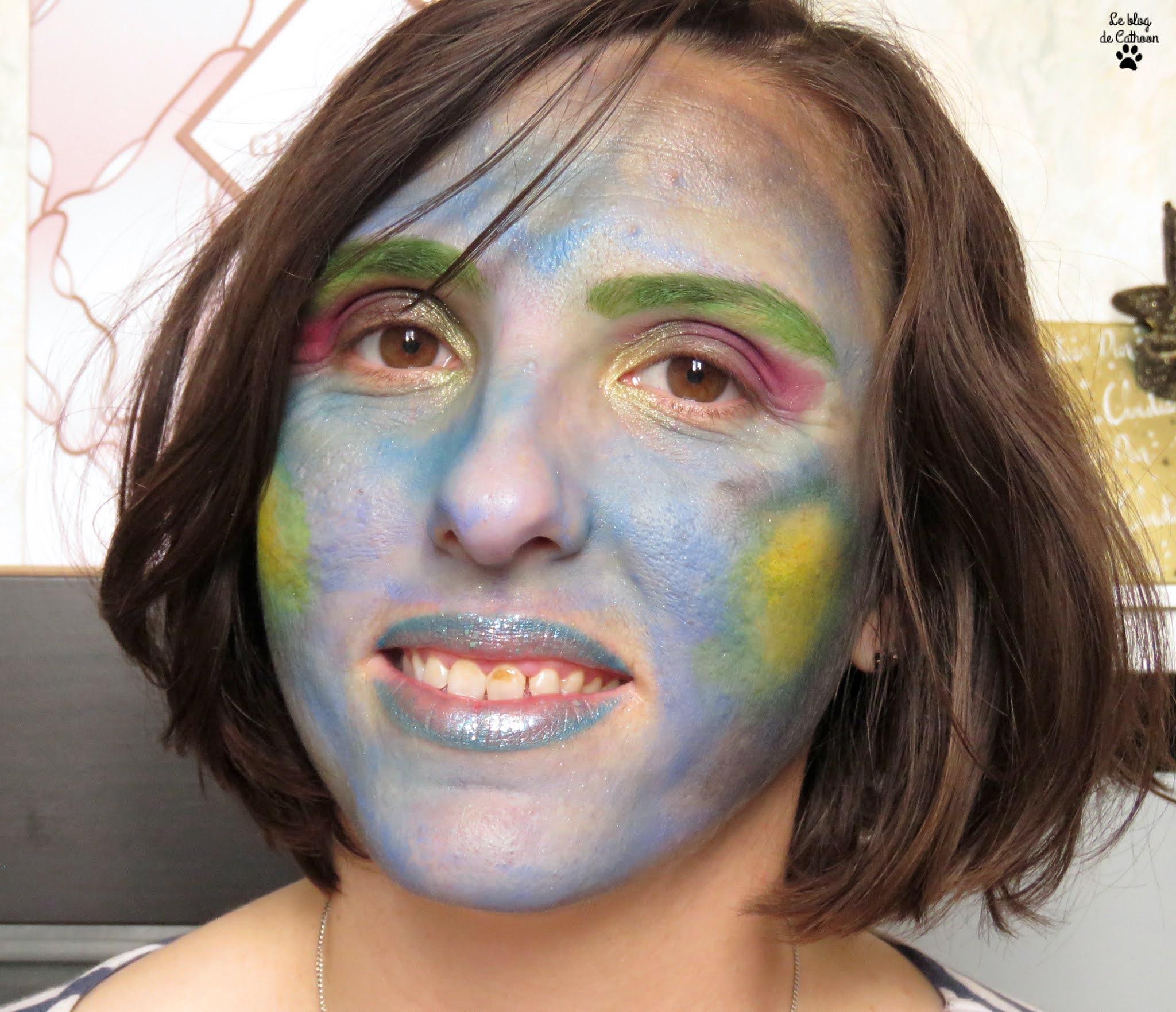 challenge makeup