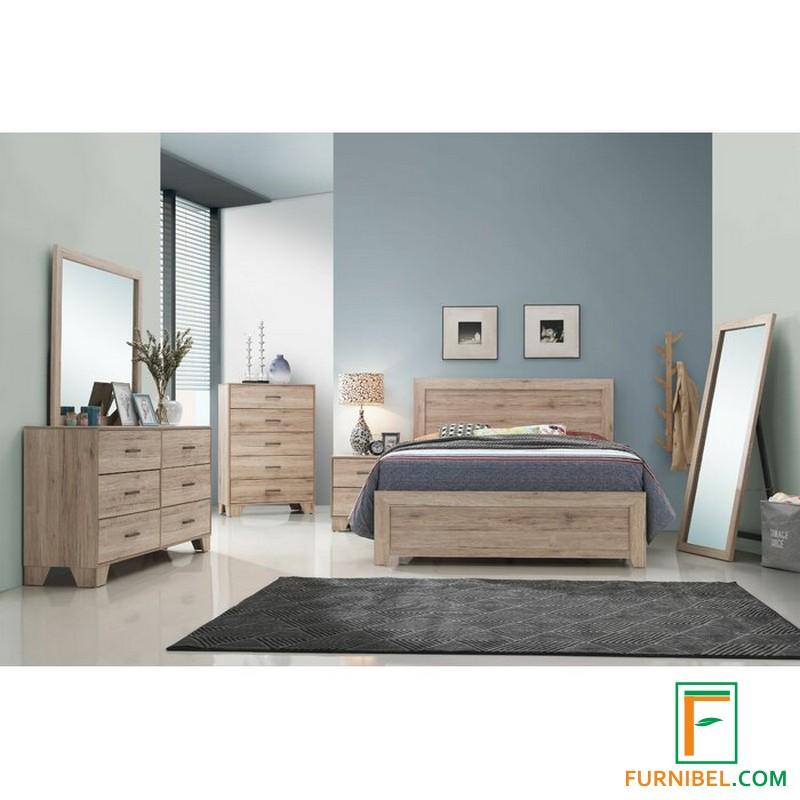 Tempat Tidur Minimalis Idul Fitri 2021 Kayu Solid