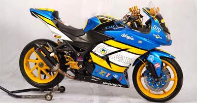 Foto Koleksi Modifikasi Motor Kawasaki Ninja