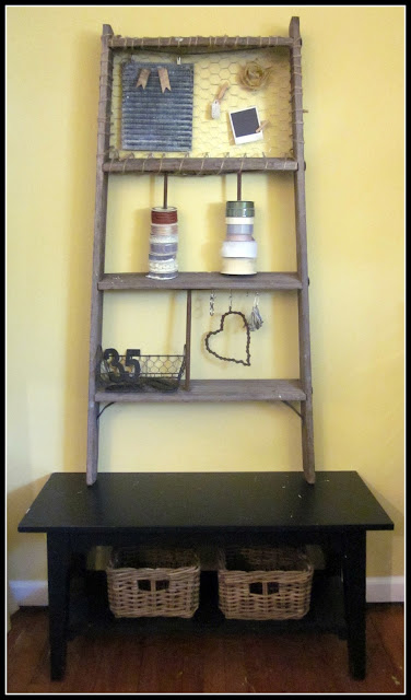 Ladder Craft Organizer