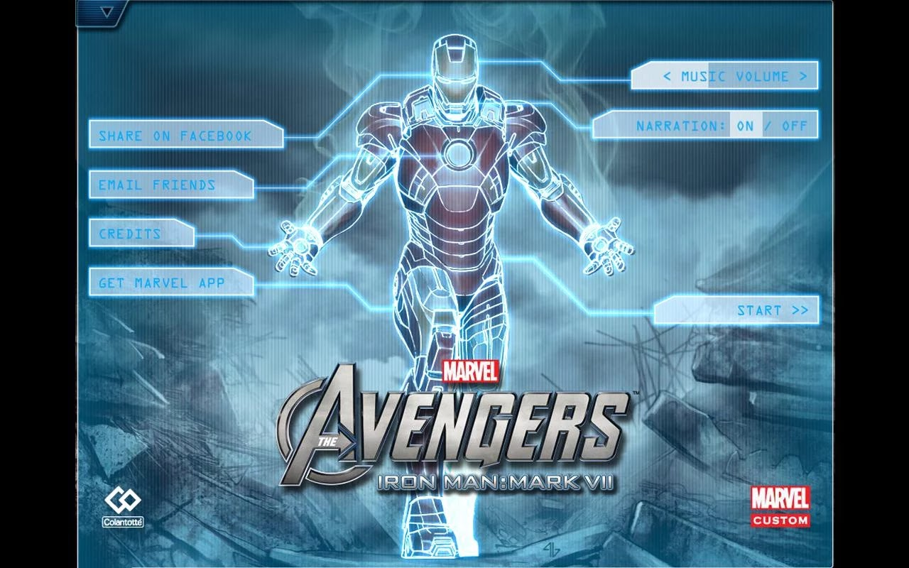 free download Comics The Avengers-Iron Man Mark VII