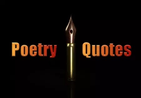 Best Famous Poetry Quotes And What Is Poetry Quotes About Love