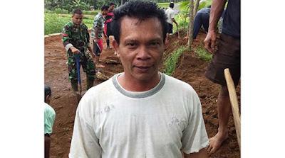 Senang dan Bangga Bisa Bekerja Bersama TNI  Satgas TMMD