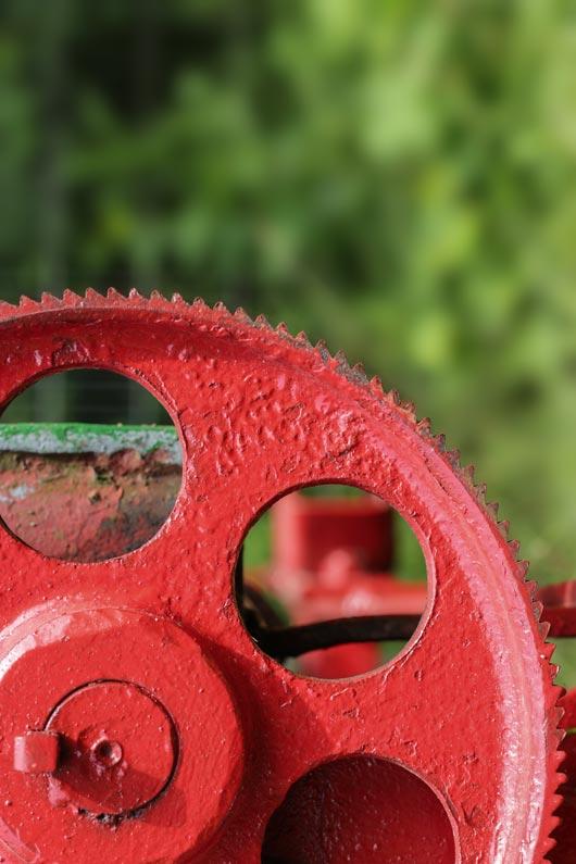 Rot und Durchblick, Fotografie