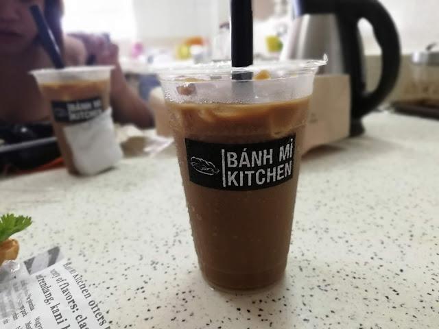 damn strong bahn mi kitchen vietnamese iced coffee