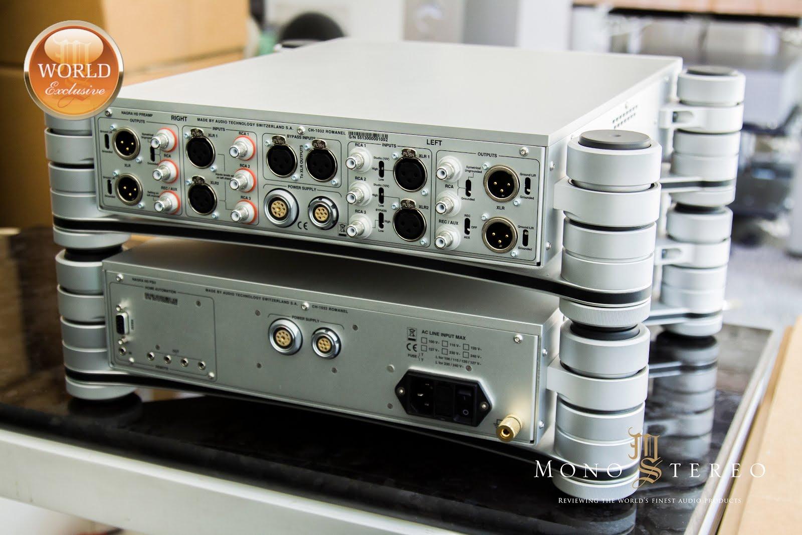 Mono and Stereo High-End Audio Magazine: NAGRA HD