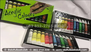 hanya disini harga cat akrilik v tec 12 warna yang paling murah