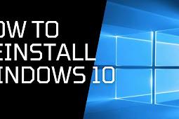 Cara Install Dan Install Ulang Laptop Dan PC Windows 10