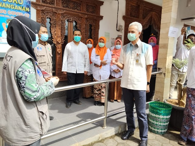 Kunjungan Dadakan Gubernur Jawa Tengah ke Desa Gulang Mejobo Kudus