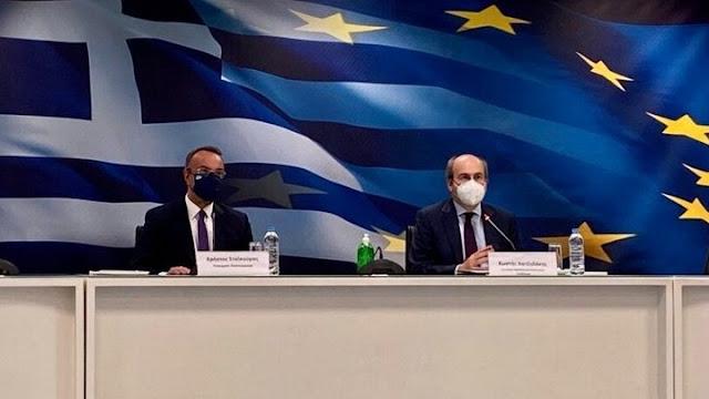 Σταϊκούρας - Χατζηδάκης: Μέτρα 1 δισ. ευρώ για την στήριξη επιχειρήσεων και εργαζομένων τον Απρίλιο