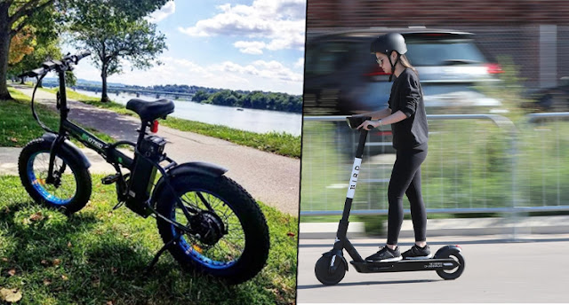 Ebike vs electric scooter